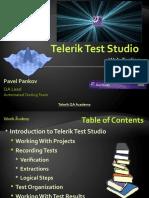 Test Studio - Web Testing