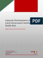 Capacity Development of Local Governance