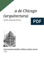 Escuela de Chicago (Arquitectura) - Wikipedia, La Enciclopedia Libre