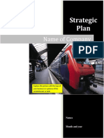 StrategicPlan Template