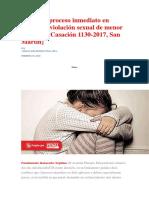 Características Del Delito de Falsa Declaración en Procedimiento Administrativo