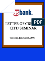 Export Import Financing Loc Letter of Credit Christopher Ames Usbank