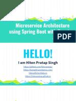 portal microservice architecture