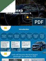 Mind Rover Tata Hexa