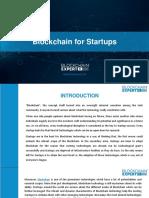 Blockchain for Startups
