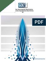 GDE - Manual Expediente Electronico