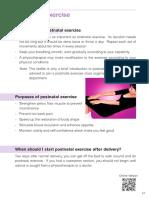 Xx Postnatal Excercise