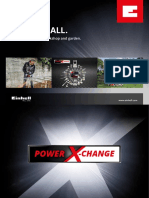 Einhell PowerXChange Flyer 01 En