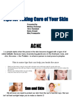tips for taking care of your skin-2