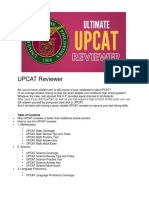 UPCAT Reviewer