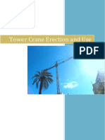 Tower Crane Erection and Use