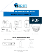 Camera IP Heden Manuel HD INT