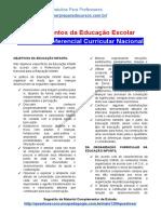 Material de estudo sobre Referencial Curricular Nacional