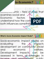 Socio Econmic