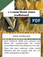 Peluang bisnis jamu tradisional.pptx