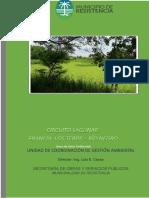 Estudio de Lagunas Francia Los Teros Rio Negro 2018