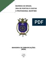 Manobra de Embarcações (MEM)