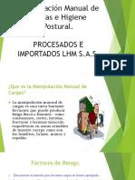Manipulación Manual de Cargas y Higiene Postural