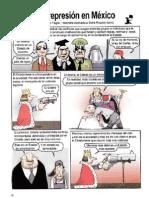 Historia de la represión en México
