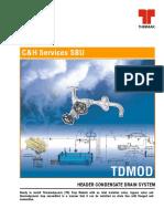 Thermodynamic Trap Module Catalogue
