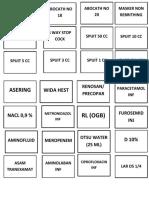 Daftar Obat Floor Stok