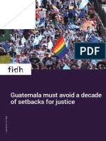 Guatemala must avoid a decade of setbacks for justice