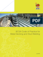 Code of Practice for Metal Decking and Stud Welding 2014