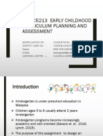 curriculum planning and assessment