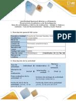 Guía de Actividades y Rúbrica de Evaluación - Fase de Reconocimiento – Sonido y Gusto Musical