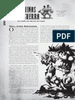 Reinos de Ferro D20 - Máquinas de Guerra - Troll Atroz Esmagador