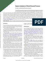 Progressive Collapse Analysis of Steel Braced Frames