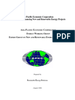 Guidebook for Financing New and Renewable Energy Projects