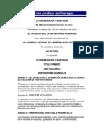 Ley de Mediacion y Arbitraje