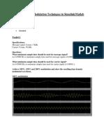 Amplitude Modulation Techniques in SimulinkMatlab