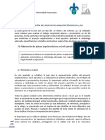 4.Presentacion Del Proyecto Arquitectonico 2D y 3D
