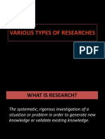 3 Types of Research 16