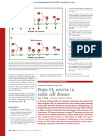 Brain O2 reserve in sickle cell disease.