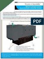 Sound Attenuator for Generator