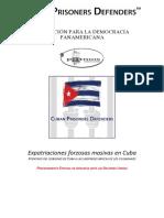 EXPATRIACIONES CUBA - COMUNICACIÓN PROCEDIMIENTO ESPECIAL NACIONES UNIDAS