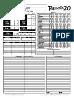 Ficha Eletrônica - T20 Playtest V1.2