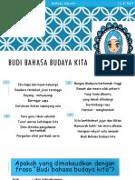 Budi Bahasa Budaya Kita