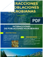 INTERACCIONES MICROBIANAS