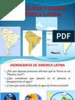 Hidrografia y Climas de America Latina Ppt