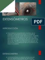 Extensómetros Tunneling