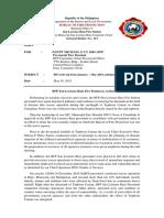 SLRFS PIS WRITE UP January May 2019.docx
