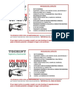 Decálogo de Buen Copiloto Techint