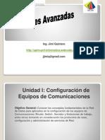 Unidad I. Redes Avanzadas