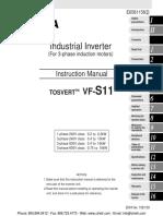 Toshiba Vf s11 Manual
