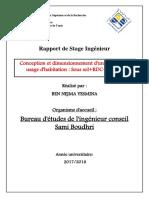 Rapport de Stage bâtiment