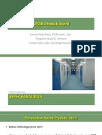 CPOB Produk Steril
